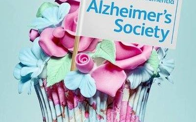 In support of Alzheimer's Society 'Cupcake Day',