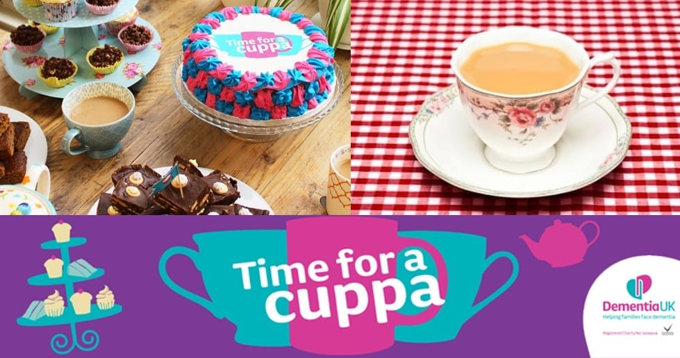 Novus Care are hosting a Time for a Cuppa event.